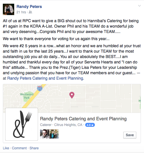 Randy Peters Catering and Events